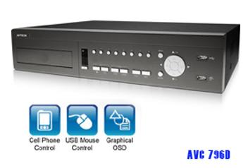 DVR Avtech AVC 796 ZB (DVR 8 Chanel AVTECH)
